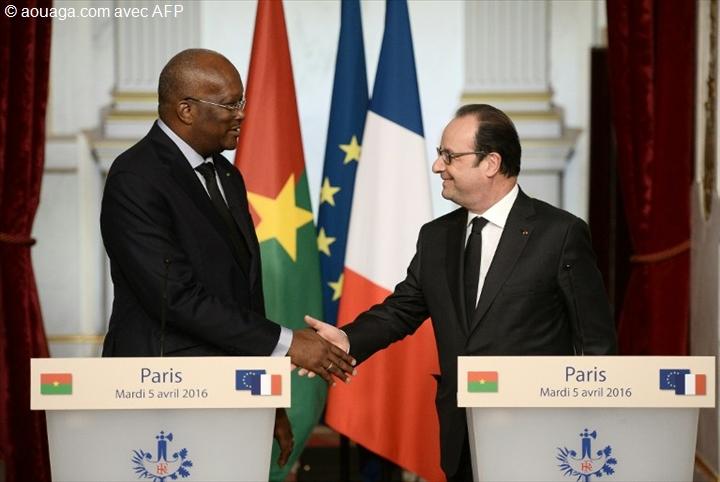 Première visite du président Kaboré en France